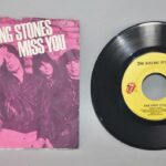 Rock-Rolling-Stones-45RPM-Record-Picture-Sleeve-Far-Away-Eyes-Miss-You-263475124512