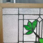 ANTIQUE-STAINED-GLASS-WINDOW-BRANCH-LEAVES-PATTERN-191797259493-4