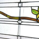 ANTIQUE-STAINED-GLASS-WINDOW-BRANCH-LEAVES-PATTERN-191797259493-5