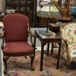 Antique-Bradley-Hubbard-Slag-Glass-Panel-Lamp-Circa-1910-265083692703-8