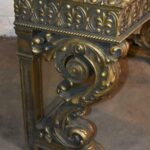 Antique-Carved-Mirrored-Entry-Console-Table-264803499453-4