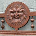 Antique-Carved-Oak-Wall-Coat-Rack-With-Beveled-Mirror-Figural-Mans-Face-194020198723-2