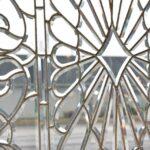 Antique-Vintage-Fully-Beveled-Glass-Window-685-x-37-Framed-Large-Circa-1910-194194078553-2