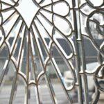 Antique-Vintage-Fully-Beveled-Glass-Window-685-x-37-Framed-Large-Circa-1910-194194078553-3