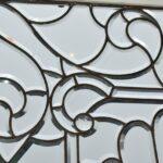 Antique-Vintage-Fully-Beveled-Glass-Window-685-x-37-Framed-Large-Circa-1910-194194078553-4