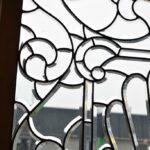 Antique-Vintage-Fully-Beveled-Glass-Window-685-x-37-Framed-Large-Circa-1910-194194078553-5