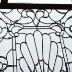 Antique-Vintage-Fully-Beveled-Glass-Window-685-x-37-Framed-Large-Circa-1910-194194078553-6
