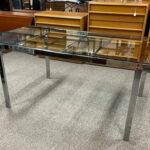 Chrome-Glass-Mid-Century-Dining-Table-193980127133-2