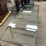 Chrome-Glass-Mid-Century-Dining-Table-193980127133-3