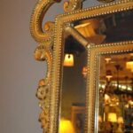 HAND-CARVED-WOOD-GOLD-ITALIAN-BEVELED-MIRROR-192117069123-3