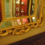 HAND-CARVED-WOOD-GOLD-ITALIAN-BEVELED-MIRROR-192117069123-6