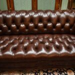 Hancock-Moore-Vintage-Tufted-Leather-Chesterfield-Sofa-Nail-Head-Trim-265207849223-4