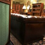 Hancock-Moore-Vintage-Tufted-Leather-Chesterfield-Sofa-Nail-Head-Trim-265207849223-5