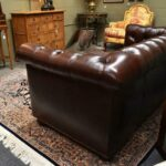 Hancock-Moore-Vintage-Tufted-Leather-Chesterfield-Sofa-Nail-Head-Trim-265207849223-6