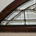 Pair-Vintage-Arched-Beveled-Glass-Windows-Circa-1910-193773794123-4