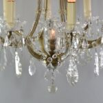 VINTAGE-FRENCH-STYLE-8-ARM-CRYSTAL-CHANDELIER-26-DIAMETER-191653941633-5