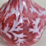Vintage-Cranberry-Glass-Barber-Bottle-Daisy-Fern-265121475353-2
