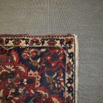Vintage-Turkish-Oriental-Area-Rug-51-x-110-Blue-Beige-Red-193606830373-4