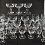 Vintage-Waterford-Cut-Crystal-Blarney-Short-Stem-Glassware-28-Pieces-265212683123