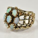 14KYellow-Gold-Opal-Cluster-Ring-Size-8-7-Grams-193930713084-2