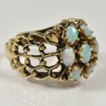 14KYellow-Gold-Opal-Cluster-Ring-Size-8-7-Grams-193930713084-3