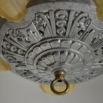 Antique-Art-Deco-Slip-Shade-Chandelier-265204481754-3