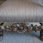 Antique-Carved-Walnut-Upholstered-Side-Chair-Paw-Feet-194042572004-5