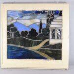 Antique-Framed-Stained-Glass-Window-Landscape-Scene-With-Gazebo-262582280414-4