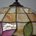 Antique-Leaded-Slag-Glass-Lamp-with-Tulip-Design-by-Unique-Art-Glass-Lamp-Co-264909013394-10