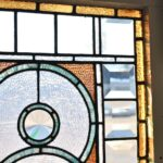 Antique-Victorian-Transom-Window-Beveled-Stained-Ripple-Glass-With-Jewels-193881562124-3