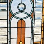 Antique-Victorian-Transom-Window-Beveled-Stained-Ripple-Glass-With-Jewels-193881562124-5