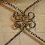 Antiqued-Silver-Gold-Wash-Distressed-Iron-Vanity-Set-Mirror-Stool-Vanity-264931816504-9
