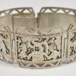 Aztec-900-Silver-Five-Link-Bracelet-675-265064843104