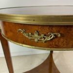 Egyptian-Revival-Style-Round-Burl-Wood-Side-Table-With-Bronze-Mounts-265204458734-5