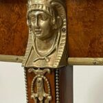 Egyptian-Revival-Style-Round-Burl-Wood-Side-Table-With-Bronze-Mounts-265204458734-6