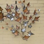 MID-CENTURY-MODERN-CURTIS-JERRE-AUTUMN-LEAVES-HANGING-WALL-SCULPTURE-1979-262001605594-2