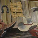 Original-Western-Motif-Oil-Painting-On-Canvas-By-Artist-Valter-Morais-42-x-102-193605005674-5