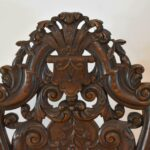 Pair-Vintage-Edwardian-Style-High-Back-Carved-Side-Chairs-194249155444-3