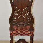 Pair-Vintage-Edwardian-Style-High-Back-Carved-Side-Chairs-194249155444-6