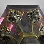 Pair-of-Gothic-Revival-Torch-Style-Brass-Wall-Sconces-193337214434-7