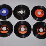 Ten-Near-Mint-Soul-45RPM-Records-Old-Store-Stock-Bill-Doggett-King-Poly-Records-192272109754