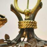 Vintage-Bronze-French-Empire-Three-Arm-Eagle-Chandelier-193884506524-3