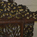Vintage-Carved-Asian-Fireplace-Screen-With-Dragons-Koi-Fish-193613477554-4