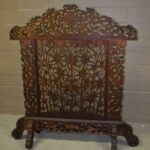 Vintage-Carved-Asian-Fireplace-Screen-With-Dragons-Koi-Fish-193613477554-6