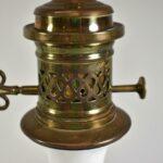 Vintage-Hand-Painted-Porcelain-Brass-Table-Lamp-Birds-Flower-Details-265200137764-4