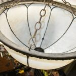 Antique-22-Domed-Opaque-Bent-Glass-Chandelier-Shade-Egg-And-Dart-Details-193291915655-6