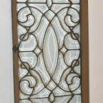 Antique-Beveled-Glass-Window-Circa-1920s-Original-Frame-193400330675