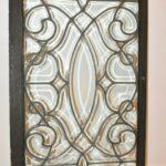 Antique-Beveled-Glass-Window-Circa-1920s-Original-Frame-193400330675-3