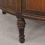 Blackhawk-Furniture-Co-Walnut-Hand-Decorated-French-Style-Demi-Lune-Chest-194117560245-7