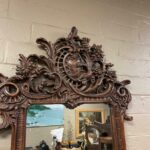 Carved-Walnut-Mirror-Swan-Goose-Made-In-Spain-194014468135-2